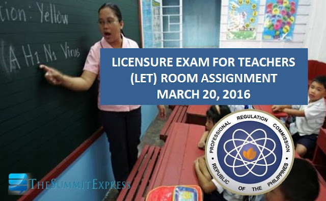 LET room assignment