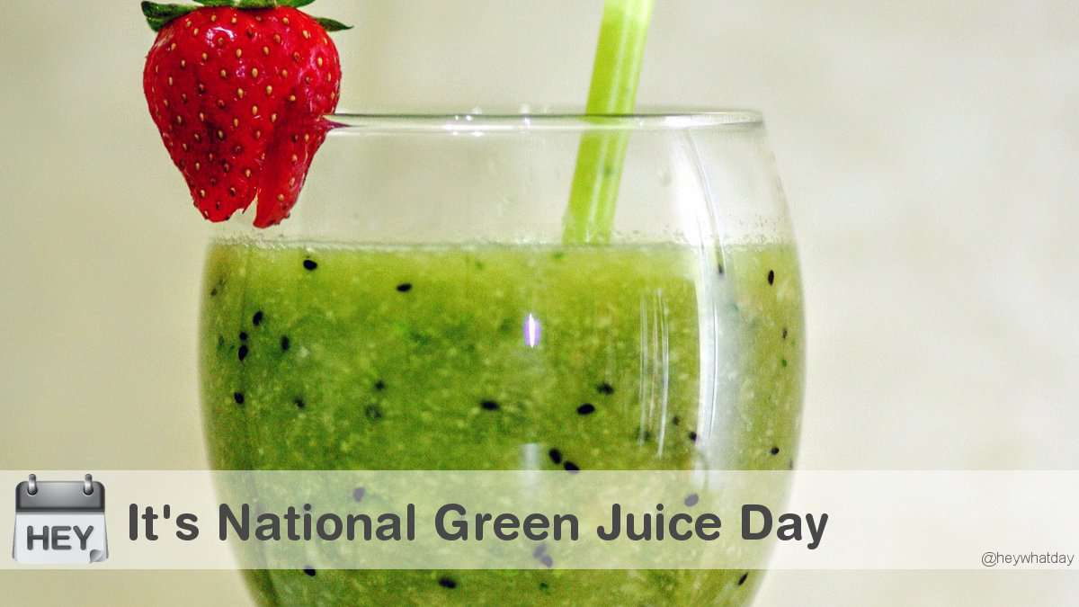 National Green Juice Day Wishes Images download