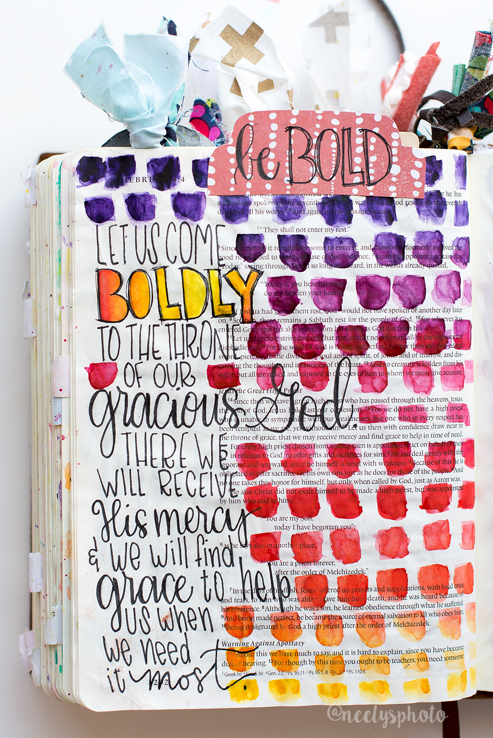 How to Start Bible Journaling neely beattie