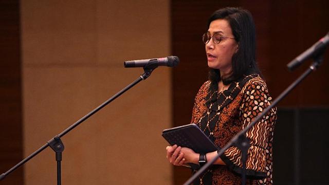 Sad... Sri Mulyani Tersentuh Saat Menyanyikan Indonesia Raya