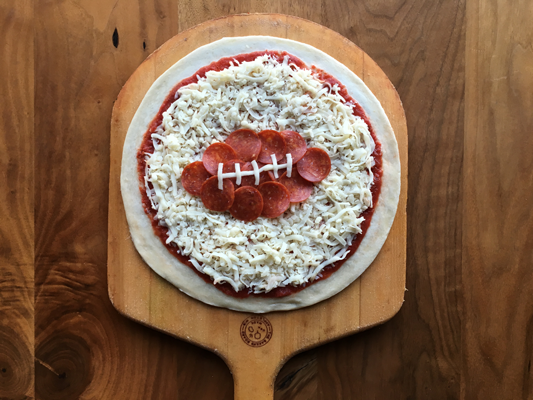 Image: Pieology is kicking off all things football this season with a special offer for the Big Game