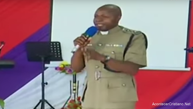 Jefe de la Policía en Kenia William Sifuna