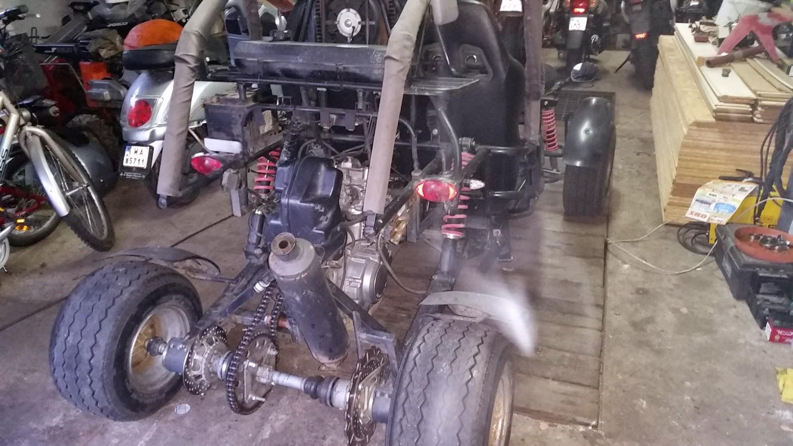 Project Buggy Dazon Raider 250 With Honda Cb500 Engine Wizyta W