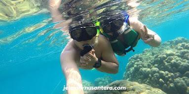 aktivitas snorkeling pulau gosong