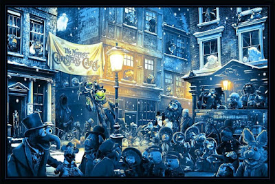 "The Muppet Christmas Carol ""One More Sleep"" Screen Print by Ape Meets Girl x Hero Complex Gallery"