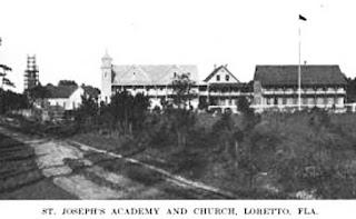 1914 photo of St. Joseph Church and school