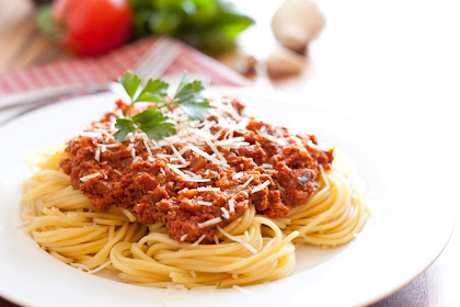 Spaghetti with Meat Sauce - Authentic Italian Style