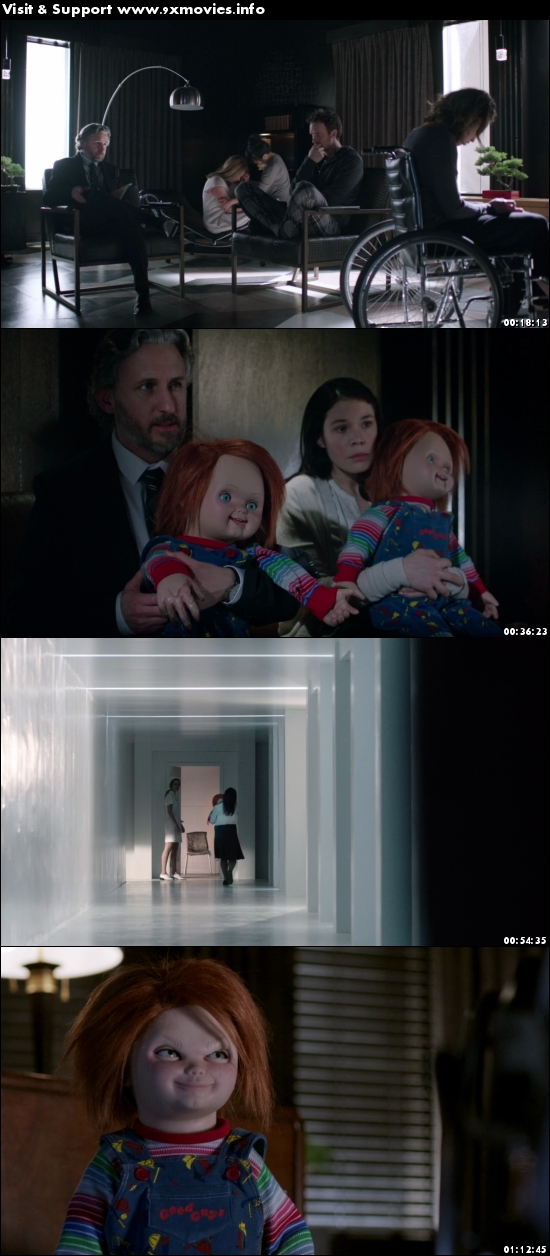 Cult of Chucky 2017 UNRATED English 480p BRRip 300MB ESubs