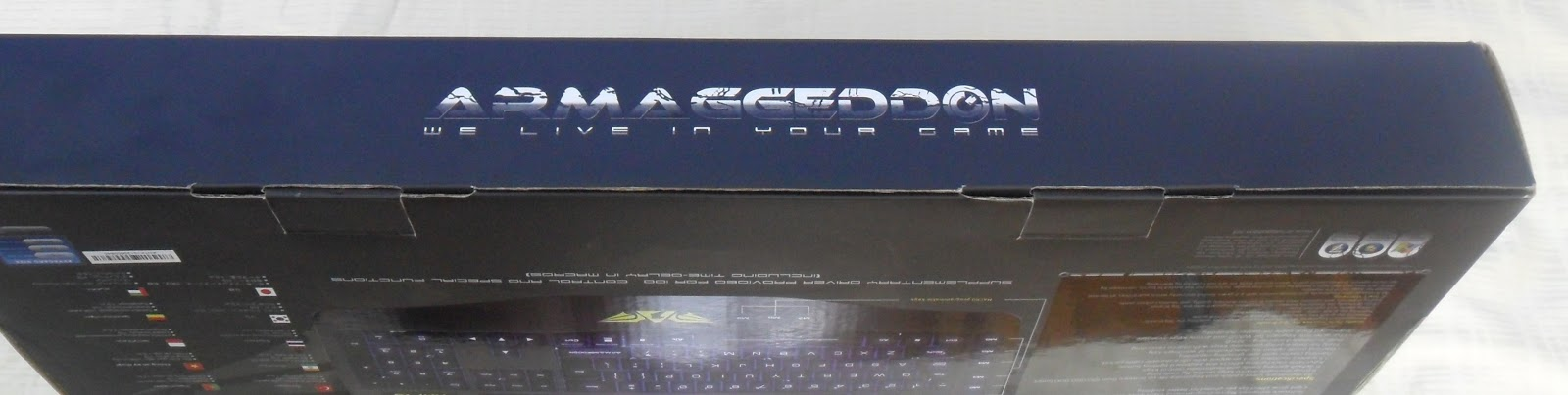 Unboxing & Review: Armaggeddon Taranis Kai-13 Gaming Keyboard 53