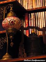 Orientalische Glaslampe