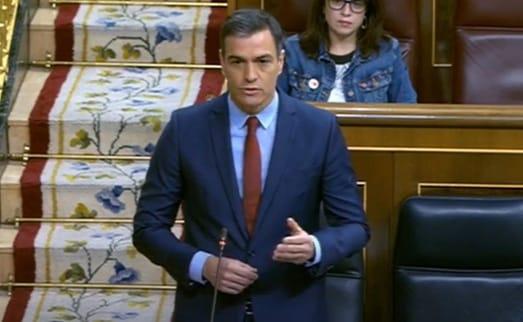 Pedro Sánchez. Congreso