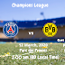 Paris Saint Germain vs Borussia Dortmund | Uefa Champions League | 12 March, 2020 | Parc des Princess