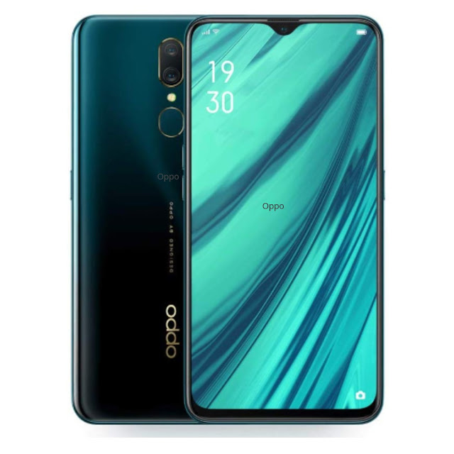 oppo a9 marine green color