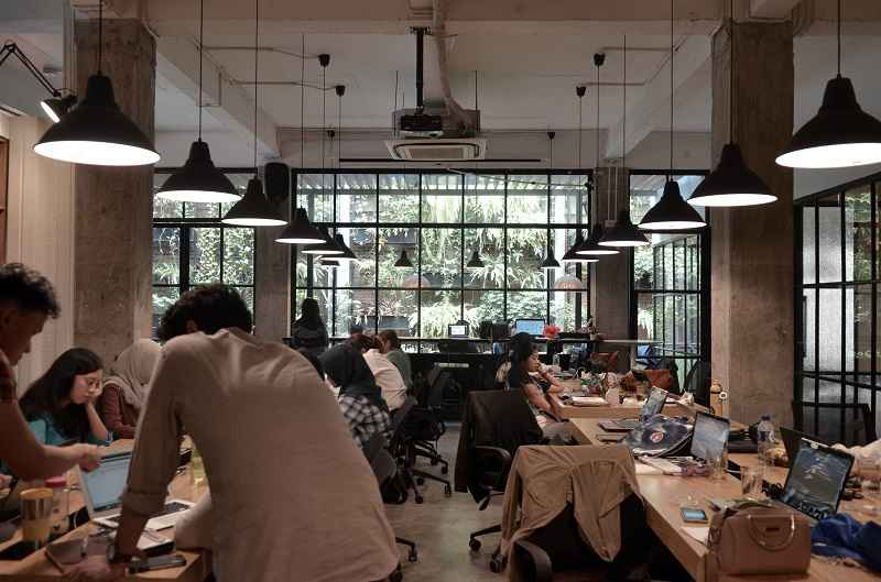 EV Hive coworking space