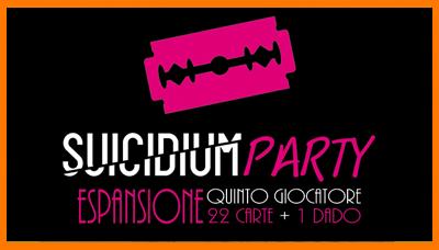 suicidium party, espansione, gioco, carte, officina meningi