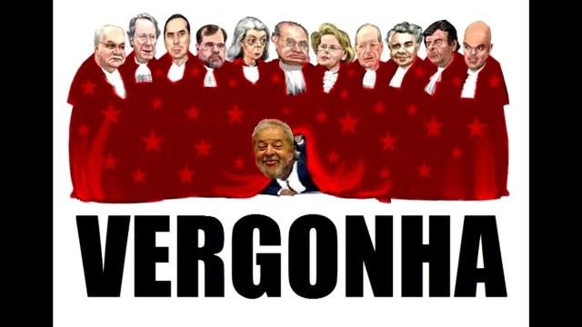 Editorial  Vergonha para o STF, luto para o Brasil