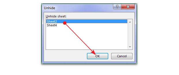 Cara Menampilkan Worksheet