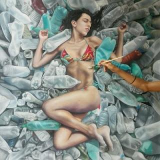fantasticas-pinturas-hiperrealistas-mujeres-en-el-agua mujeres-pinturas-hiperrealistas-oleo
