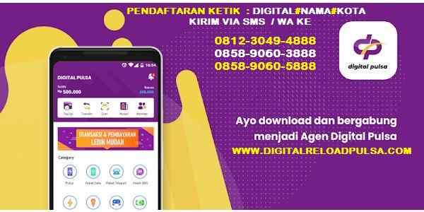 Cara Mengunduh Digital Mobile Top Up
