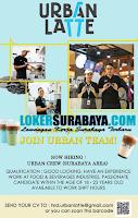 Bursa Kerja Surabaya di Urban Latte Terbaru November 2019