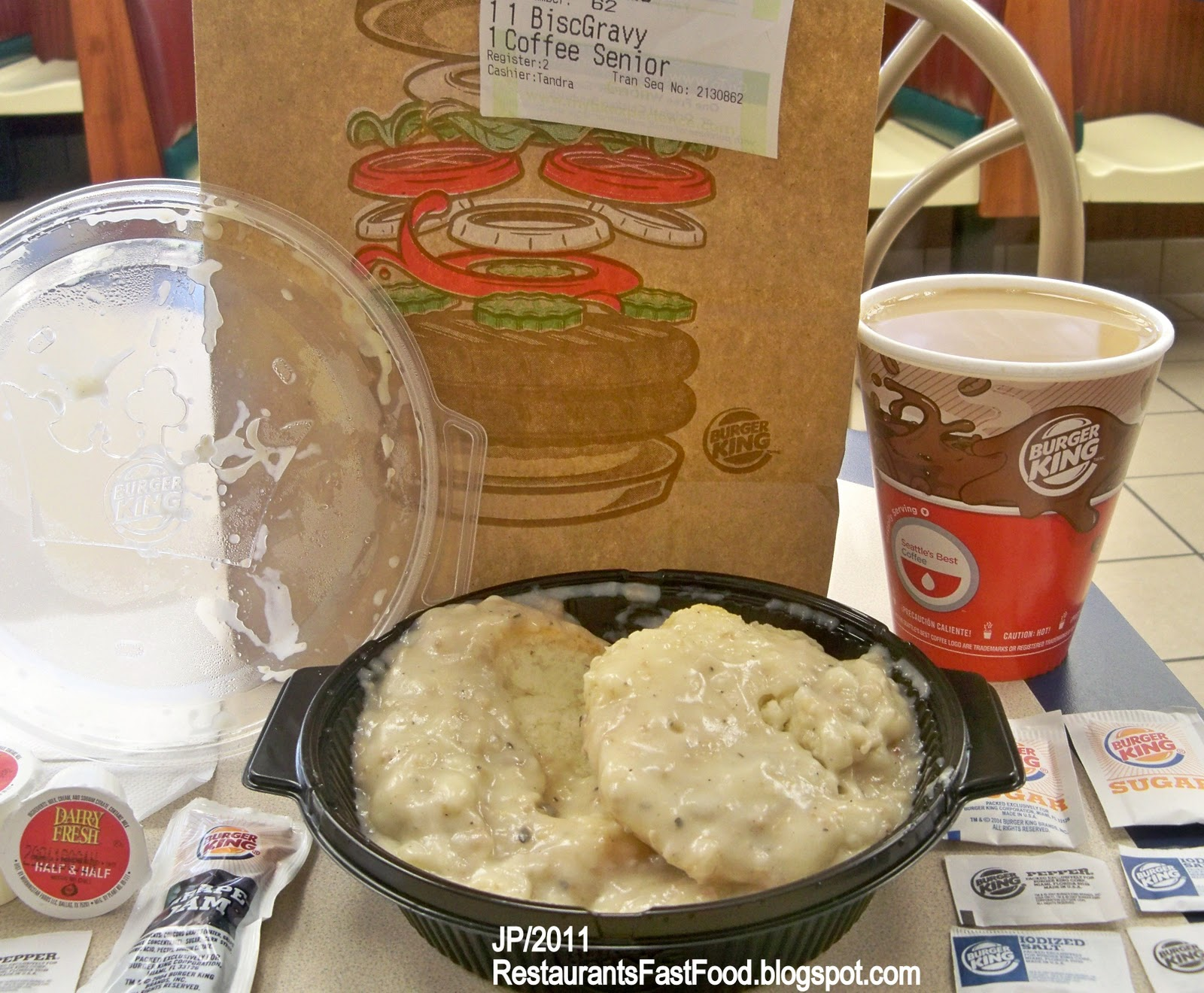 Best Breakfast Biscuits In Fast Food