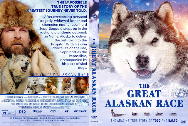 The Great Alaskan Race DVD Cover