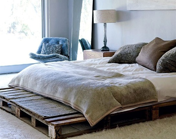 INGENIOUSLY BEAUTIFUL DIY PALLET BED DESIGNS