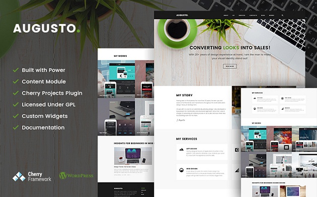 Augosto WordPress Theme