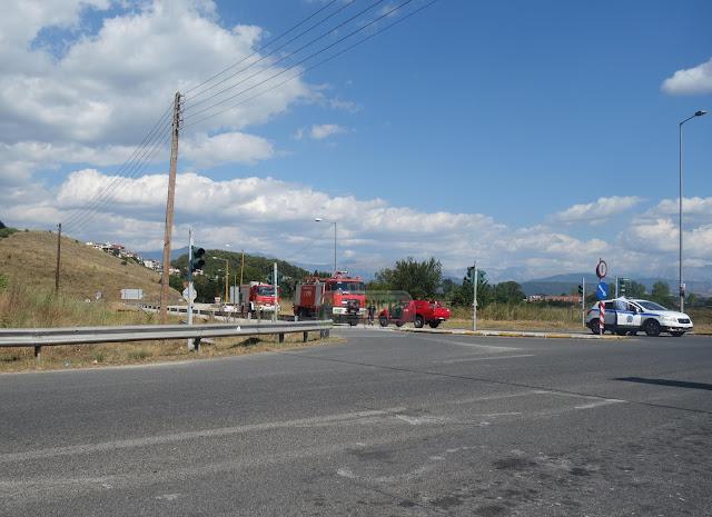 Γιάννενα: Φωτιά Σε Όχημα Στην Περιφερειακή [Φωτό]