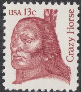 Crazy Horse stamp 1982