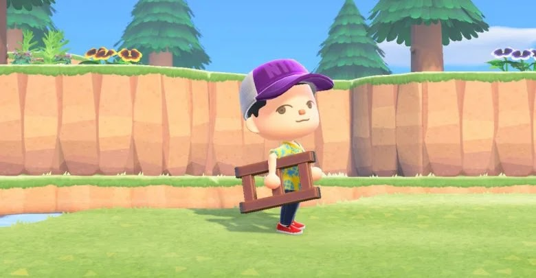 Animal Crossing: New Horizons - How to get and build the ladder