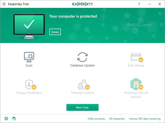 Download Kaspersky Free Antivirus for Windows