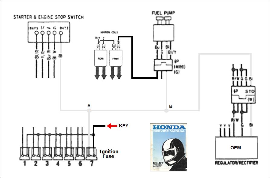 Honda Shadow 1100 Wiring Diagrams For Free 1975 Honda 360