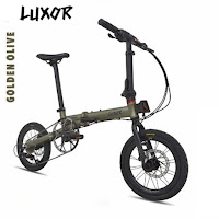 sepeda lipat pacific luxor folding bike