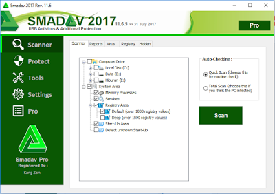 Full Free Serial Number Key jembercyber Unduh Game Smadav Pro Rev 11.6.5 Full Free Serial Number Key Update Terbaru 2017