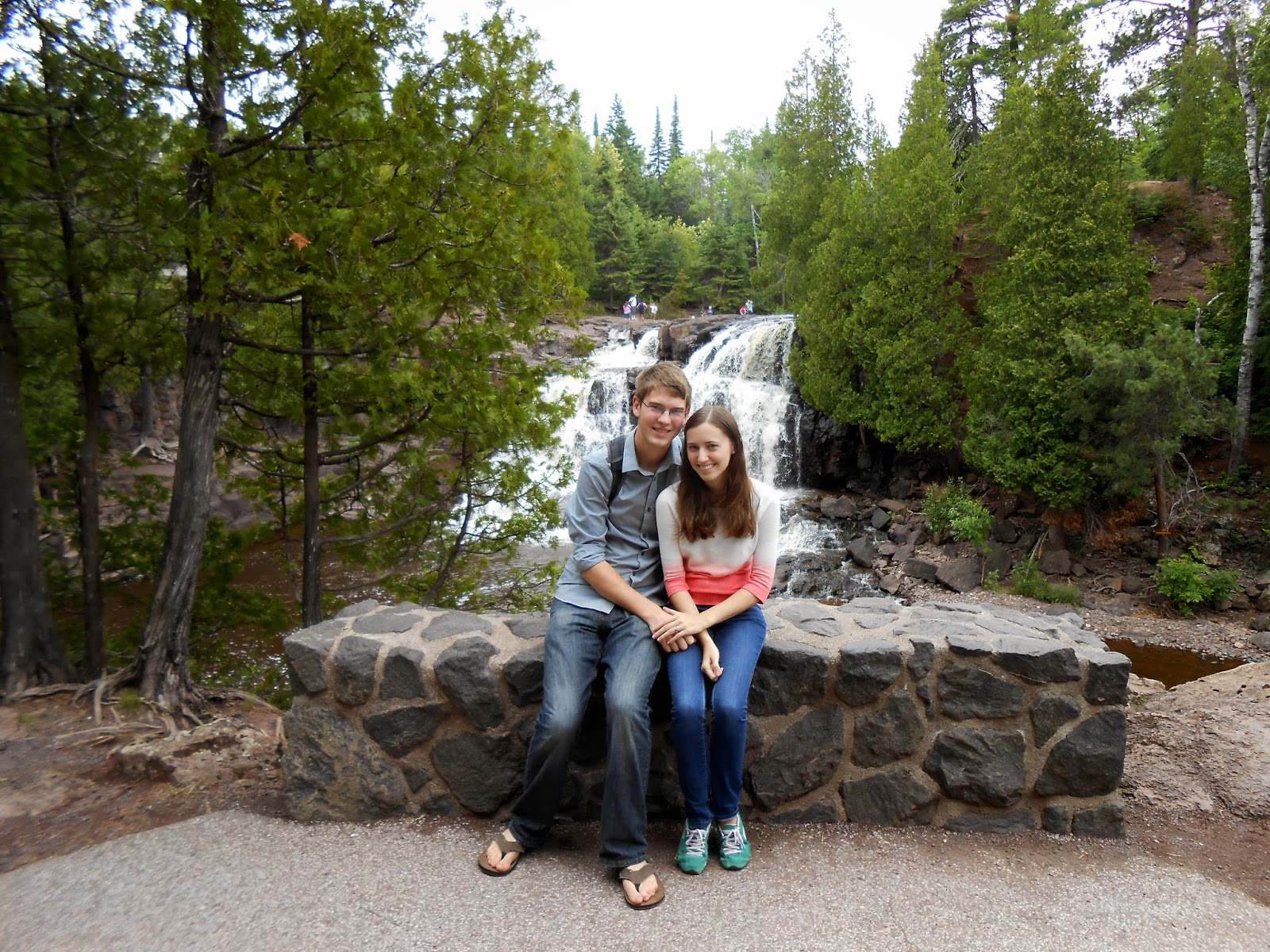 Gooseberry Falls in Minnesota