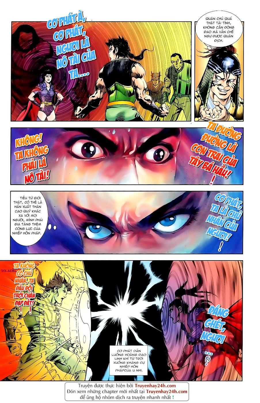 Cơ Phát Khai Chu Bản chapter 92 trang 18