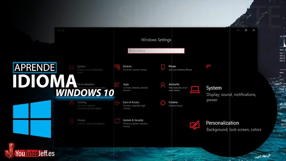 Como Cambiar Idioma de Windows 10