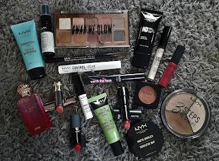 Make up vakantie inpaklijst