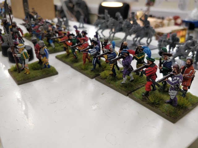 Breaking! Warlord Games: Plastic Landsknecht Arquebusiers Boxed Set Preview