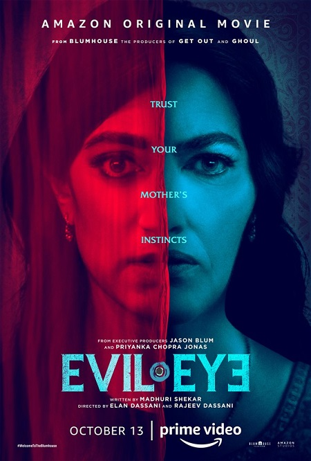 Evil Eye 2020 720p HEVC WEB-HDRip Dual Audio Hindi – 500 MB