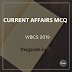 Current Affairs MCQ For WBCS 2019