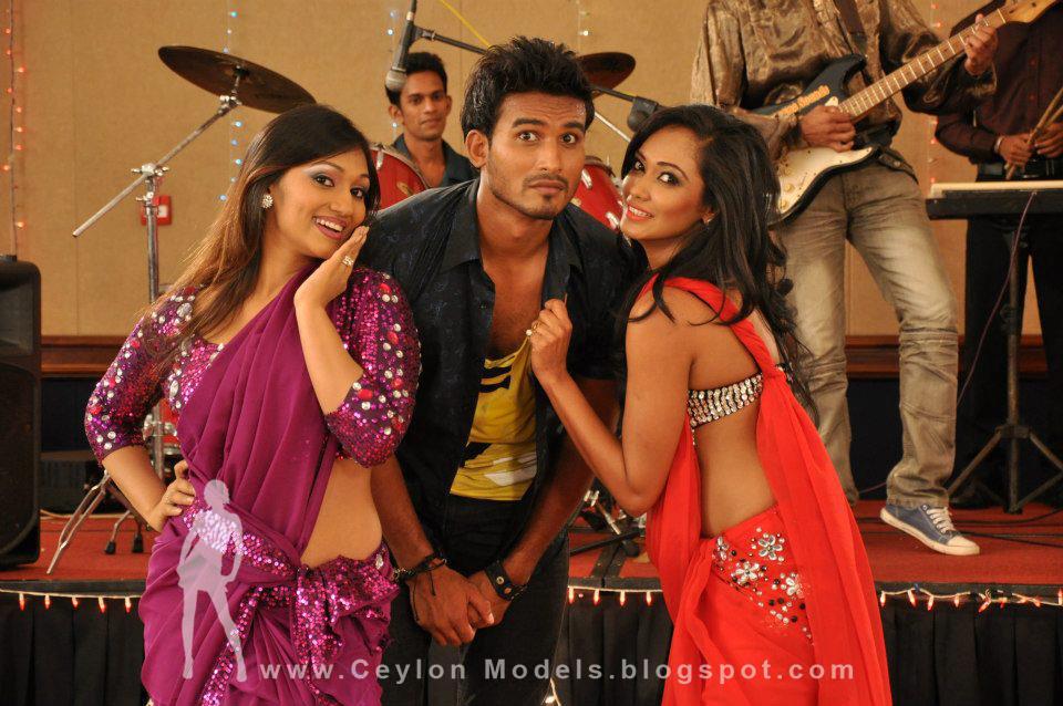 hot sri lankan mail model with  yureni noshika and paba
