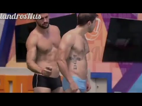 BBB 2021 - Big Brother Brasil - Banho e Pau Duro