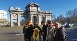 Madrid, la Puerta de Alcalá.