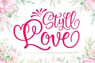 Styll Love Font