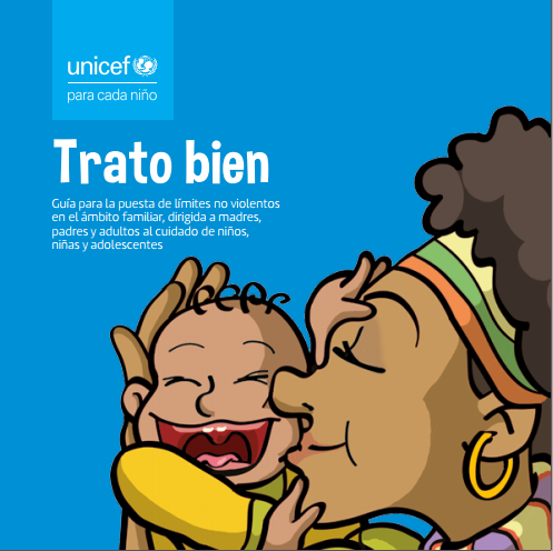Guía para la puesta de límites no violentos en el ámbito familiar, dirigida a madres, padres y adultos al cuidado de niños, niñas y adolescentes.