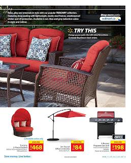 Walmart Outdoor Living Catalogue March 16 - 29, 2017