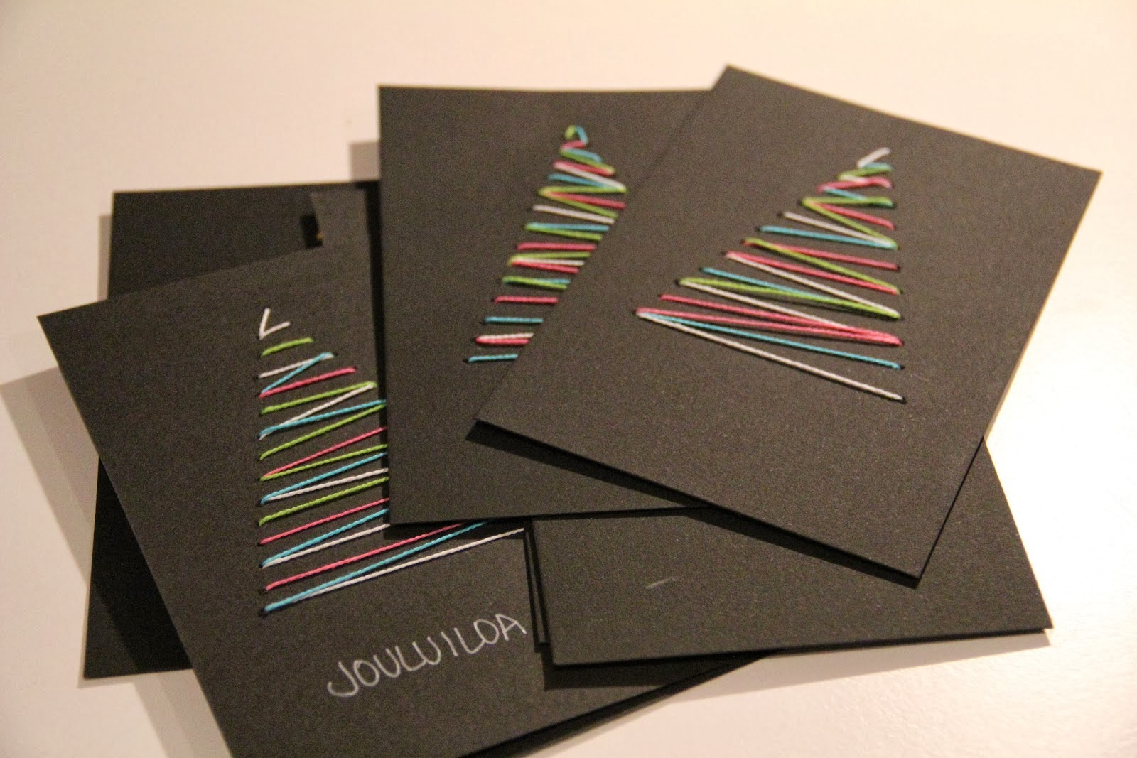 Ideas Para Postales De Navidad - Ideas-para-tarjetas-de-navidad