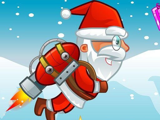 Flying Santa Gifts Game